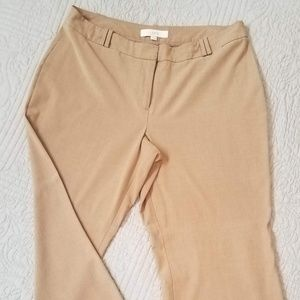 Loft tan trousers lightweight